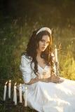 Princess w lesie Obrazy Stock