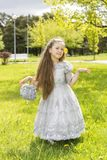 Princess is in a wonderful mood today Stock Photo