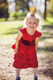 Princess in the woods Royalty Free Stock Images