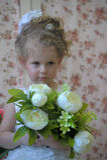 Princess z kwiatami Fotografia Stock