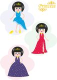 princessdrottning Arkivfoto