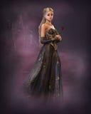 Princesse élégante de conte de fées, 3d CG. illustration libre de droits