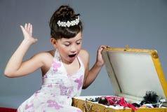 Princesse étonnée Photographie stock