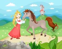 Princesse illustration de vecteur