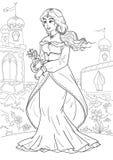 Princesse arabe illustration libre de droits
