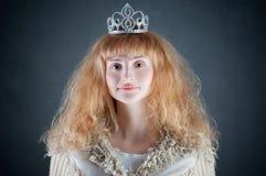 Princesse avec la tête image stock
