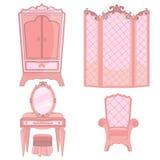 Princesse Bedroom illustration de vecteur