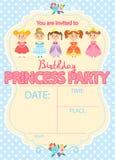 Princesse Birthday Party Photos stock