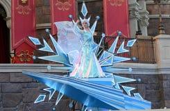 Princesse congelée par Disney Elsa Photo libre de droits