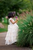 Princesse dans le jardin Photo stock