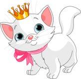 Princesse de chaton Photographie stock libre de droits