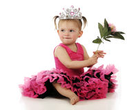 Princesse de fleur Image libre de droits