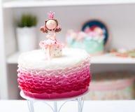 Princesse de gâteau Images libres de droits