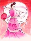 Princesse de lune Images libres de droits