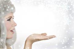 Princesse de neige photos stock