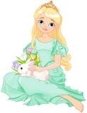Princesse de Pâques illustration de vecteur