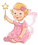 Princesse de petite fille Images stock