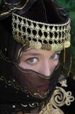 Princesse de tabouret Photos libres de droits