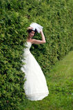 Princesse de Yung marchant dans le jardin Photos libres de droits