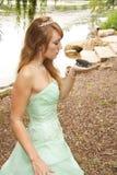 Princesse et la grenouille Photographie stock libre de droits