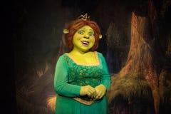 Princesse Fiona, sculpture en cire, Madame Tussaud images stock