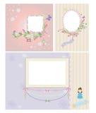 Princesse Frame Image stock