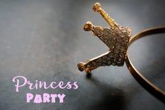 Princesse héritière Photo stock