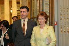 Princesse Margaret et prince Radu Photos libres de droits