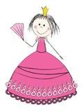 Princesse mignonne Image libre de droits