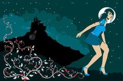 Princesse moderne 2 Images stock