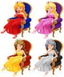Princesses Royalty Free Stock Image