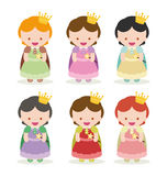 Princesses Royalty Free Stock Photos