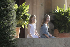 Princesses of Spain Royalty Free Stock Photography