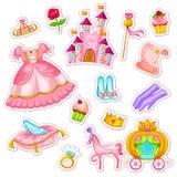 Princessset Royaltyfria Foton