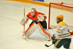 Princeton #1 in NCAA Hockey Game Stock Photo
