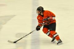 Princeton #16 in NCAA Hockey Game Stock Image