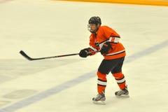 Princeton #2 in NCAA Hockey Game Stock Image