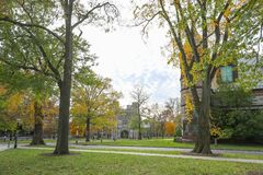 Princeton University is a Private Ivy League University in New Jersey, USA. royalty free stock photo