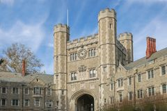 Princeton University is a Private Ivy League University in New Jersey, USA. Princeton, New Jersey - October 15, 2017: Princeton University is a Private Ivy Stock Photography