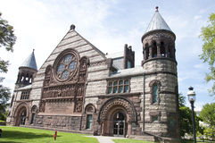Princeton University. Campus historic buildings constructed of limestone Royalty Free Stock Photography