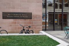 The Princeton University Art Museum in McCormick Hall Royalty Free Stock Image