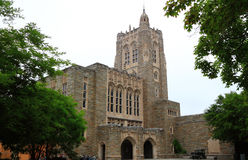 Princeton University Library. The top-ranked ivy league university in Princeton, New Jersey, United States royalty free stock photography