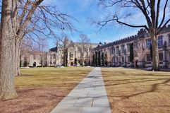 Princeton University. PRINCETON, NJ -13 MARCH 2015- Princeton University, a private Ivy League research university in New Jersey, has been ranked the number one Stock Image