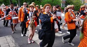 The Princeton University 2015 P-rade Royalty Free Stock Photo