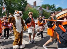 The Princeton University 2015 P-rade Stock Image