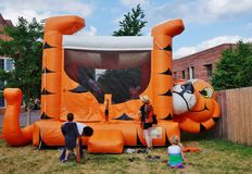 The Princeton University 2015 P-rade Royalty Free Stock Images