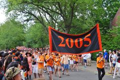 The Princeton University 2015 P-rade Royalty Free Stock Photos