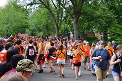 The Princeton University 2015 P-rade Stock Images