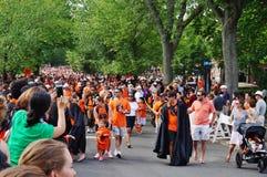 The Princeton University 2015 P-rade Royalty Free Stock Image