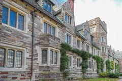 Princeton University is a Private Ivy League University in New Jersey, USA. stock photo